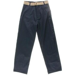 U.S. Polo Assn. Boys Uniform Khaki Pants - 16