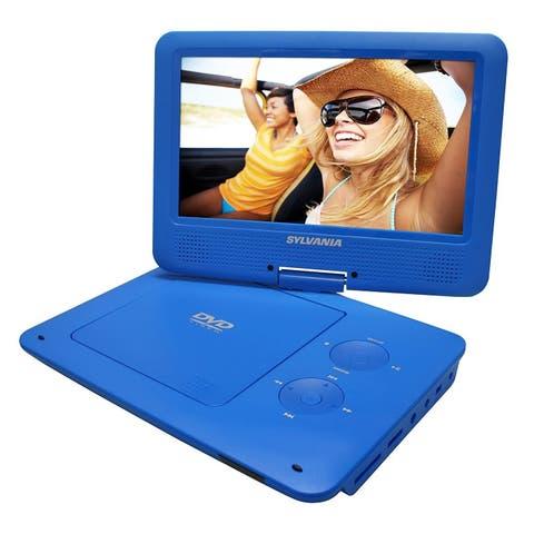 Sylvania SDVD9020B-BLUE 640 x 234 Portable DVD Player Blue Manufacturer Refurbished
