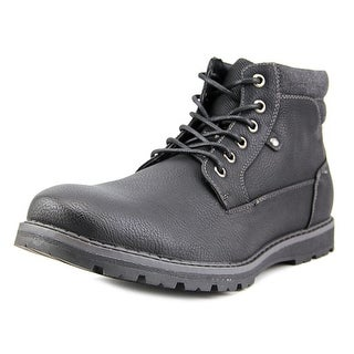 Unlisted Kenneth Cole Hall-Way Men  Round Toe Synthetic Black Boot