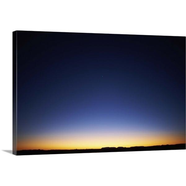 """""""West Texas sunset"""" Canvas Wall Art"""