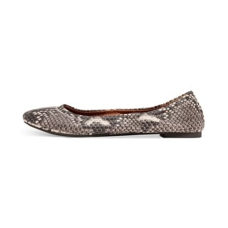 Lucky Brand Womens Emmie Leather Closed Toe Ballet Flats Ballet Flats
