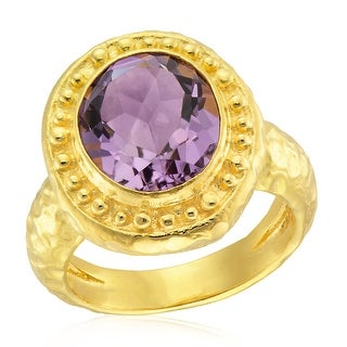 Link to Forever Last 18 kt Gold Plated Women's Ring Purple Similar Items in Rings