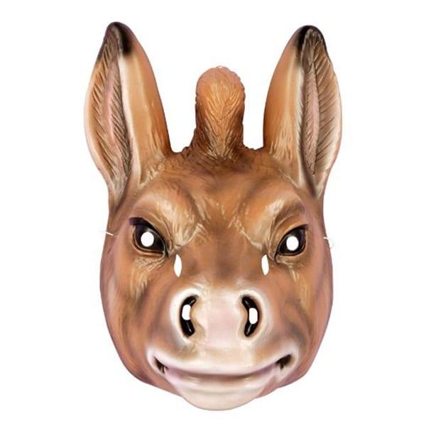 Donkey Full Costume Mask Child - Multi