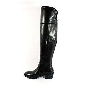 Vince Camuto Baldwin Women Round Toe Leather Over the Knee Boot