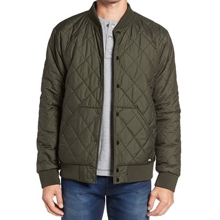 The North Face NEW Green Mens Size XL Quilted Puffer Jester Jacket