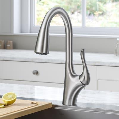 Kraus KPF-1674 Merlin 2-Function 1-Handle Pulldown Kitchen Faucet
