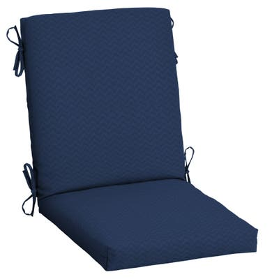 Arden Selections DriWeave Outdoor 44 x 20 in. High Back Dining Chair Cushion