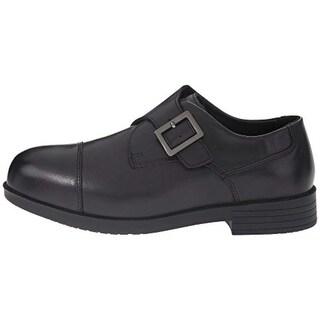 Drew Shoe Mens Canton Leather Buckle Dress Oxfords