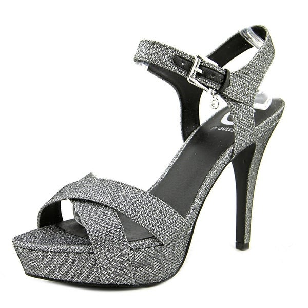 G By Guess cenikka2 Open Toe Synthetic Platform Heel