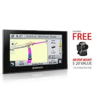 Garmin Nuvi 2589LMT 5-Inch Touch Screen GPS System w/ Voice Activated Navigation