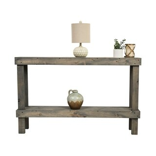 Link to Rustic Luxe Large Wooden Sofa Table by Del Hutson Designs Similar Items in Living Room Furniture