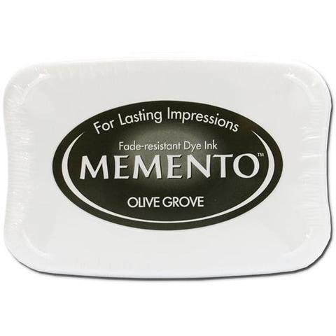 Tsukineko Memento Ink Pad Olive Grove