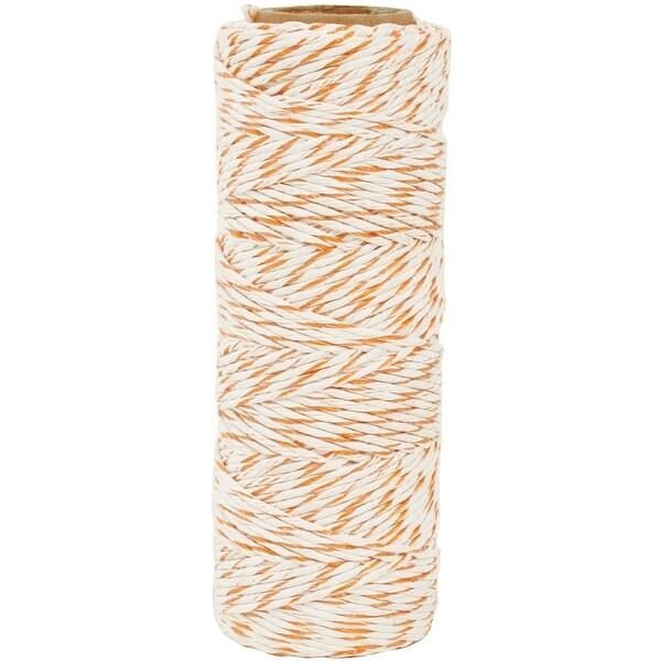 Lucky Dip Metallic Hemp Cord 1.0Mmx54m-Tangerine