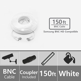 Soltech STS-AHDC150 150ft BNC Video/Power Cable