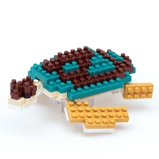 Green Sea Turtle Nanoblock Puzzle