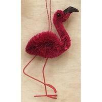 Brushart BRUSHOR01 2.5 x 2 x 2 Flamingo Ornament
