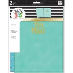 Turquoise - Create 365 Big Snap-In Hard Cover Planner