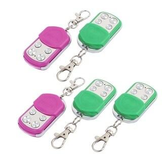 5pcs 100 Meters 4 Keys Waterproof Car Anti-theft Alarm Digital Remote Controller