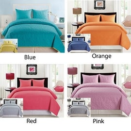 3 PCS Bedspread Quilted High Quality Bed Cover Embroidery Quilt