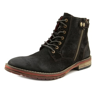 Testosterone Shoes Ball of Fire Round Toe Suede Boot