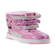Josmo Girls Minnie Mouse Snow Boot, Pink