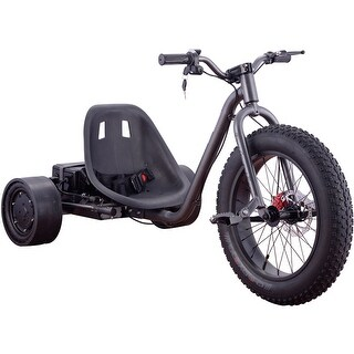MotoTec Drifter 36v 900w Trike Silver