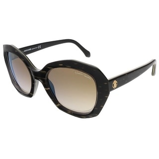 Roberto Cavalli RC797S/S 05F Black/Gold Butterfly sunglasses