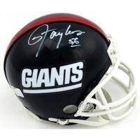 Lawrence Taylor signed New York Giants Riddell TB Mini Helmet 56 JSA Hologram