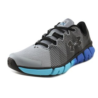 Under Armour BGS X Level Scramjet Youth Round Toe Synthetic Black Running Shoe
