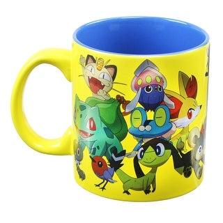 Pokemon Group Foil Print 20oz Coffee Mug - Multi