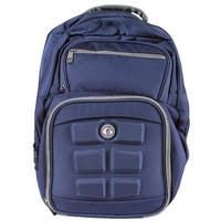 6 Pack Fitness Expedition 300 Meal Management Backpack - Navy/Gray