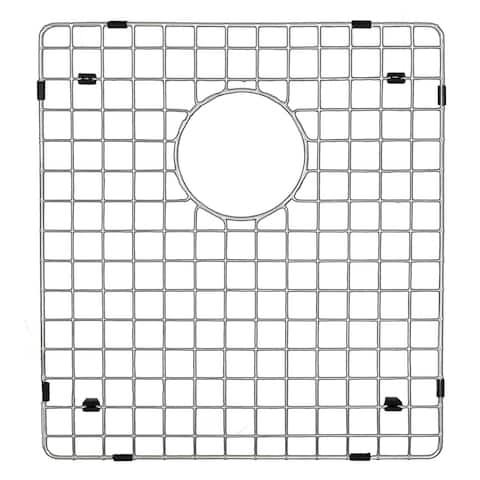 """Karran GR-6015 Stainless Steel Bottom Grid 15 1/4"""" x 17"""" Fits QT-811/QU-811"""