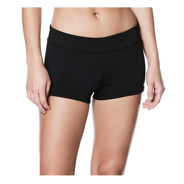 cb99c1590d Shop Nike Black Women s Size Large L Kick Boy Shorts Swimwear - Free  Shipping On Orders Over  45 - Overstock - 26976432