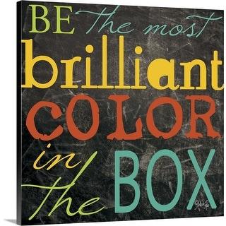 """""""Most Brilliant"""" Canvas Wall Art"""