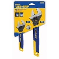Adjustable Wrench Set 2 Count
