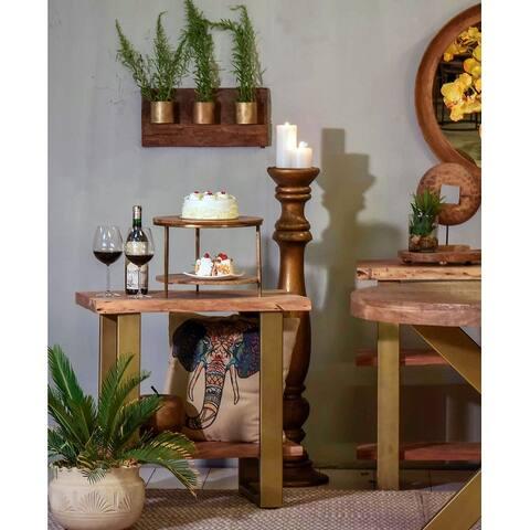 Artisan 2 shelf side table