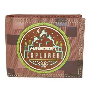 BioWorld Kid's Minecraft Explorer Bifold Wallet