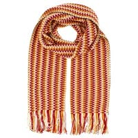 Missoni D4905   Wool Blend Crochet Knit  Scarf