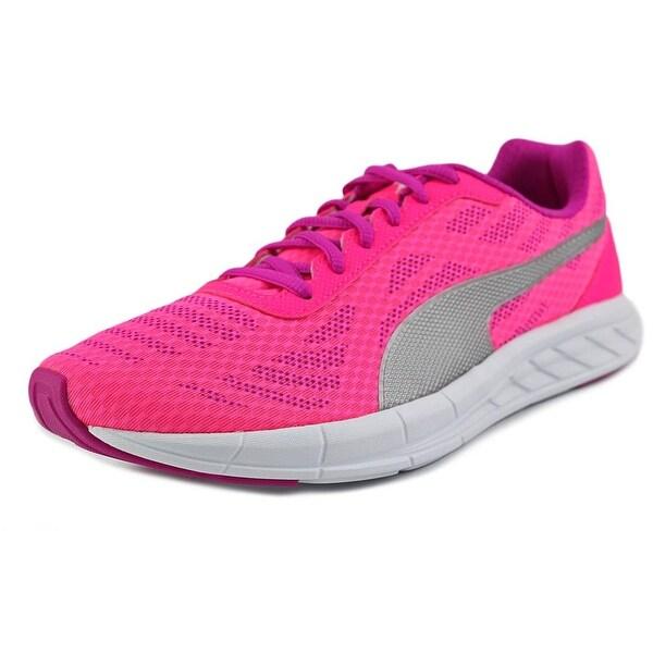 Puma Meteor Women Round Toe Canvas Pink Walking Shoe