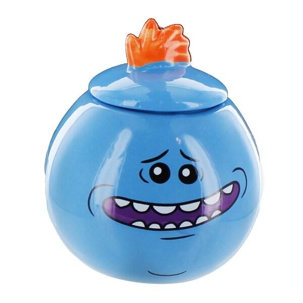 Rick and Morty Mr. Meeseeks Mini Mug/Jar, Style 1 - Multi