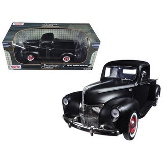Link to 1940 Ford Pickup Matt Black 1/18 Diecast Model Car by Motormax - 1/18 Diecast Model Similar Items in Toy Vehicles