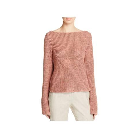Theory Womens Lalora C Sweater Linen V-Back