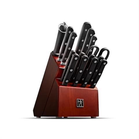 Henckels Classic Precision 16-pc Knife Block Set - Black