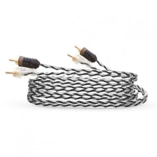 Five Meters Long Twisted Pair RCA twin Cable ideal for amplifier installation for car or home MALE T