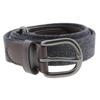 Nautica Mens Casual Belt Leather Mixed Media