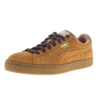 Puma Mens Classic Casual Suede Signature Sneakers - 7 medium (d)