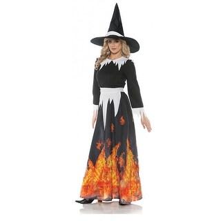 Salem Witch Adult Costume - Black