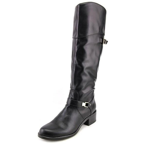 Alfani Fidoe Women Round Toe Synthetic Black Knee High Boot