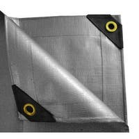 10 x 10 Heavy Duty Canopy Tarp - Silver