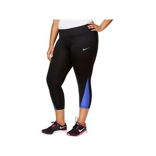Nike Womens Plus Capri Pants Compression Crop